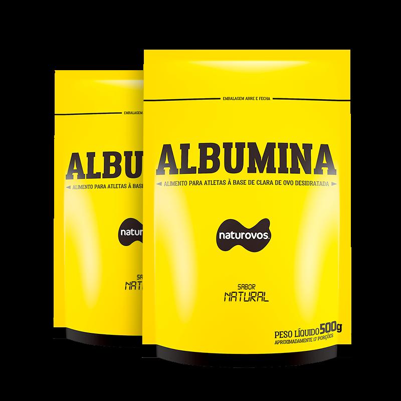 2 x Albumina Naturovos -500 G