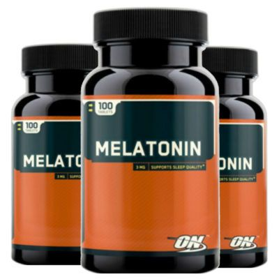3 Melatonin on  3mg 100 Caps - Optimum Nutrition