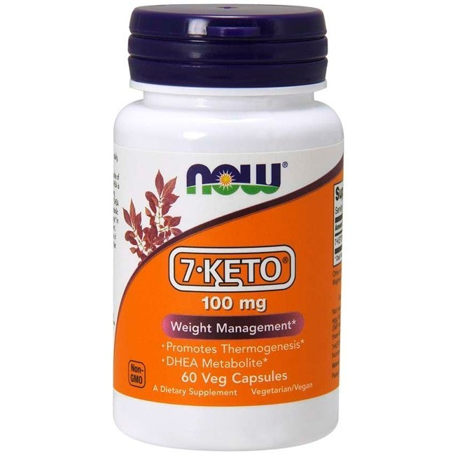 7-Keto 100 mg 60 capsulas Now foods
