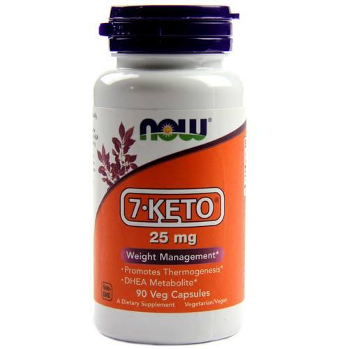 7-Keto 25 mg 90 capsulas Now foods