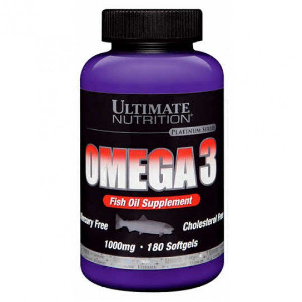 omega 3 1000mg 90 Softgels - Ultimate Nutrition