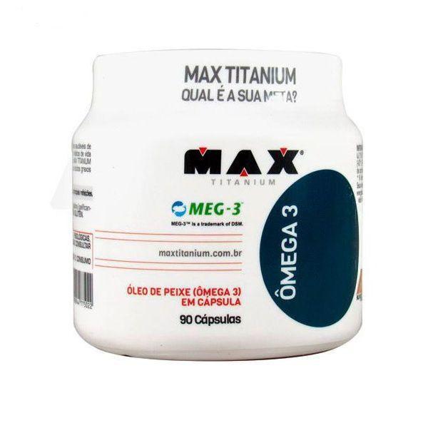 ômega 3 90 Caps - Max Titanium