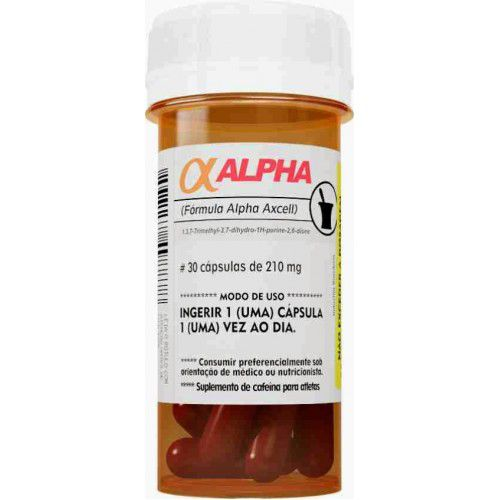 Cafeina Alpha-Axcell (30caps) Power Supplements