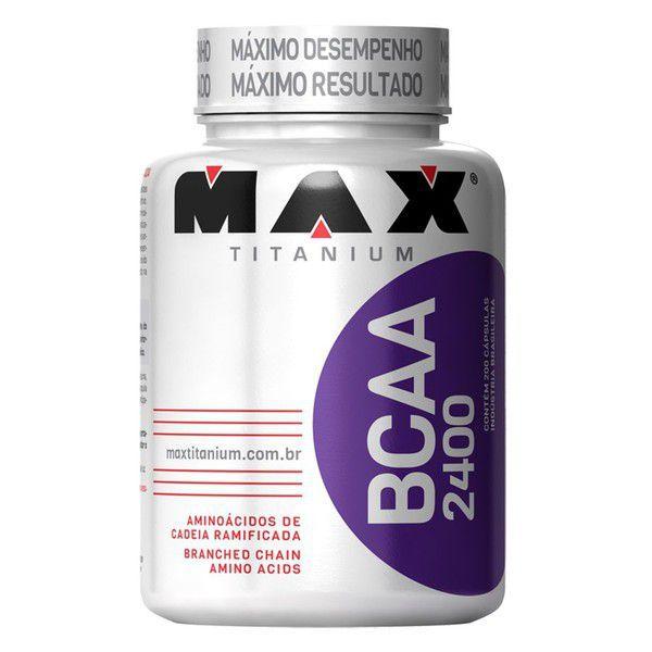 BCAA 2400mg 200 Caps - Max Titanium