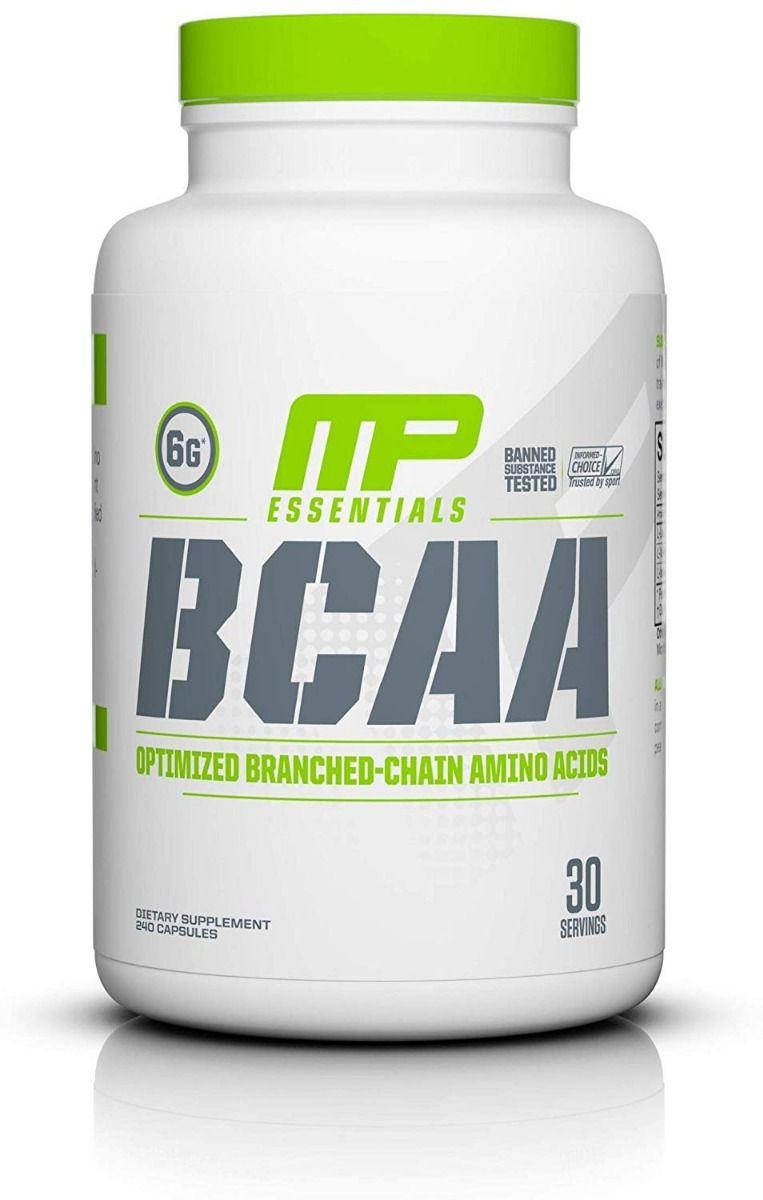 BCAA 240 Cápsulas Muscle Pharm