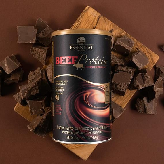 Beef Protein Cacao 480g - Essential Nutrition