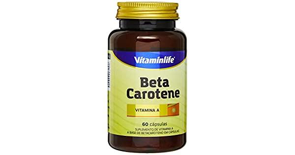 Beta Carotene 60 cápsulas Vitaminlife