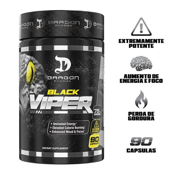 BLACK VIPER - TERMOGÊNICO