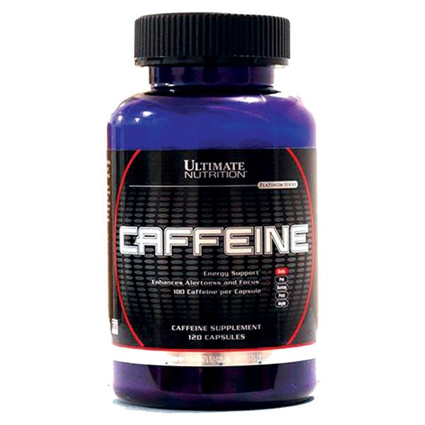 Caffeine 210mg 120 Caps - Ultimate Nutrition