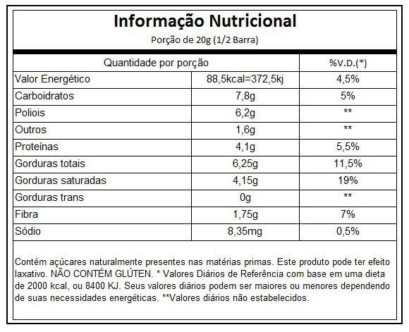 Chocolift Be Unique 12 barras - Essential Nutrition