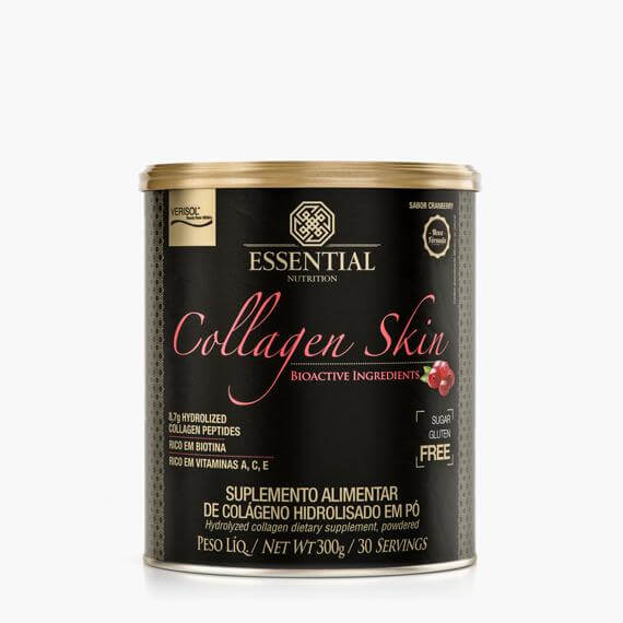 Collagen Skin Cranberry 300g | 30 porções Essential nutrition