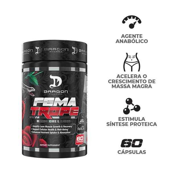 Combo :Black Viper 90 caps +Fematrope 90 caps -Dragon Pharma