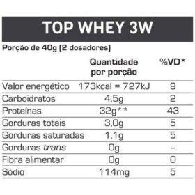 Combo: Top whey 3w 900g-Max titanium +Bone crusch 30 doses -Blacksull