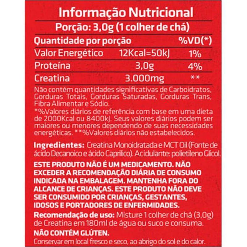 CREATINA DECANOIC 3.0 300g ( CREAPURE) - CRNVR