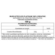 Creatina muscletech 100g