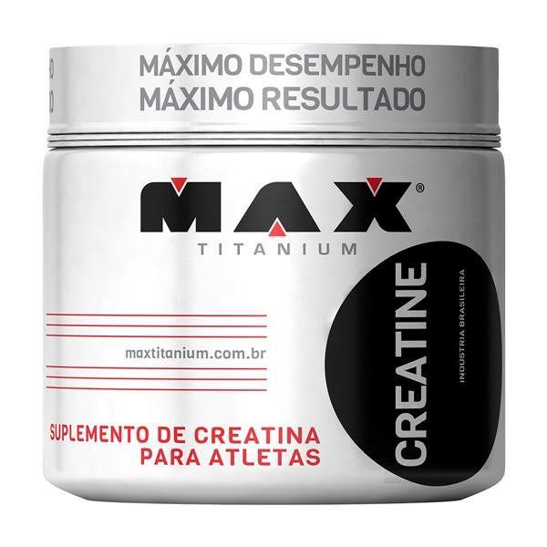 Creatina Titanium 150g - Max Titanium