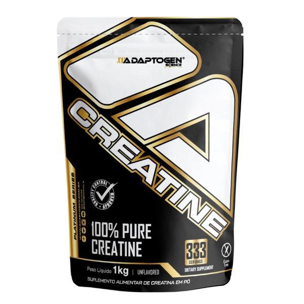 Creatine Platinum Series 1kg Adaptogen