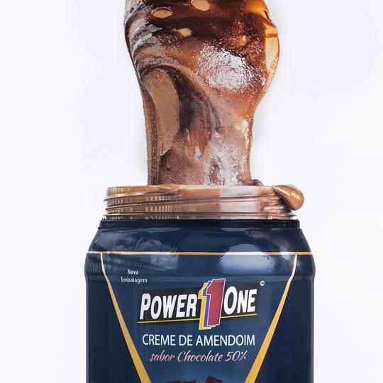 CREME DE AMENDOIM COM CHOCOLATE 50% 1,005KG power