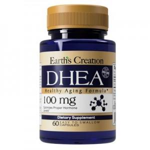 DHEA 100mg 60 capsulas  Earths creation