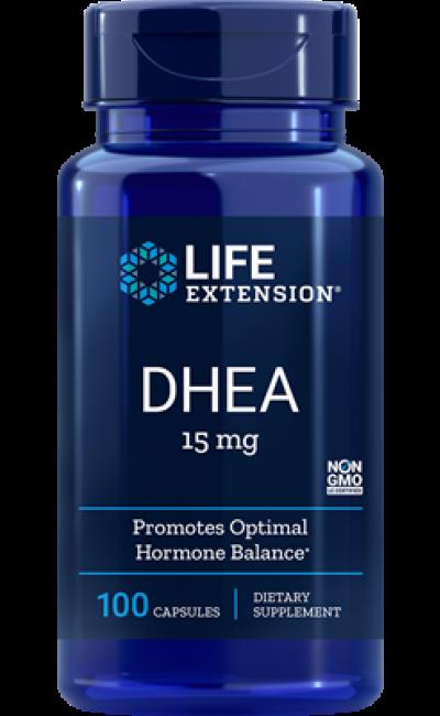 DHEA 15mg 100 caps - Life Extension
