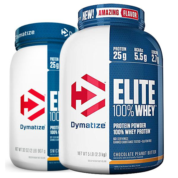 Elite Whey Protein 5lbs + Elite Whey Protein 2lbs - Dymatize Nutrition