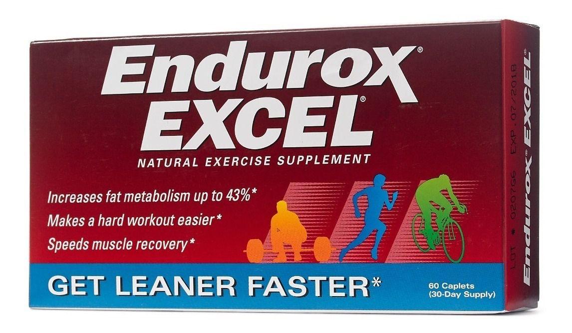 Endurox Excel (60 comprimidos) - Pacifc Health