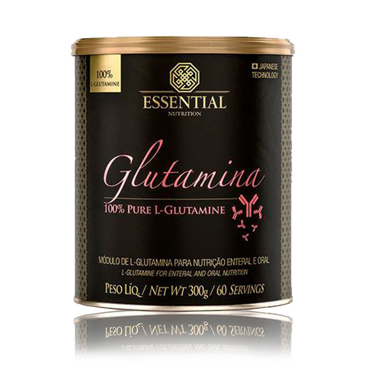 Glutamina 300g /60 doses Essential nutrition