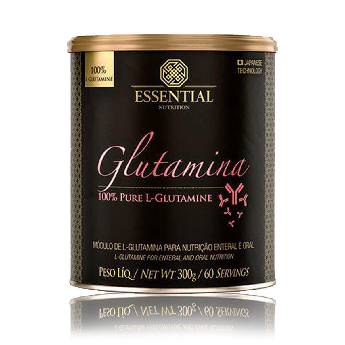 Glutamina 300g /60 doses Essential nutrition