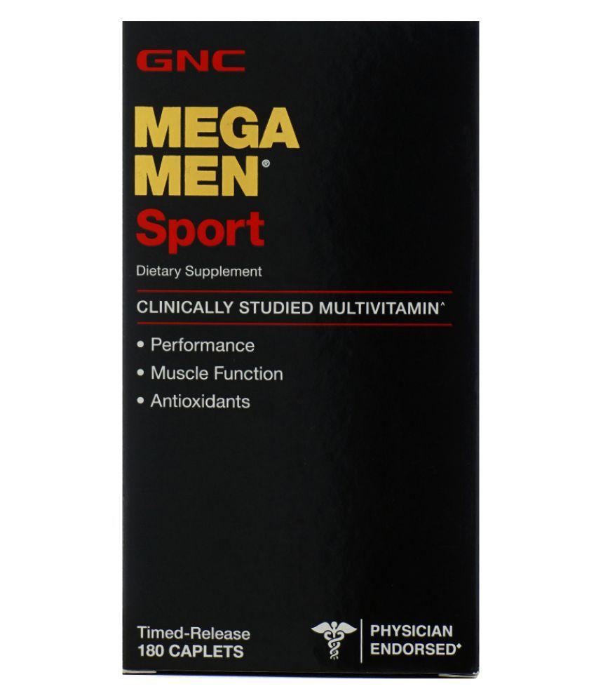 Gnc Mega Men  Multivitamínico - 180 Capsulas