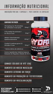 Hydra 45 Caps - Dragon Pharma+ 100% Pure Whey 825g - Probiotica