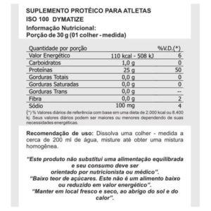 Iso 100 3lbs 1,4kg  Isolado e Hidrolisado -Dymatize nutrition