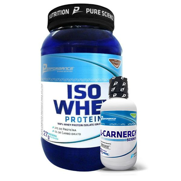 Iso Whey Protein 900g + L-Carnergy Science Liquid 474ml - Performance Nutrition