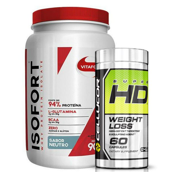 Isofort 900g + Super HD Weight Loss 60 Caps