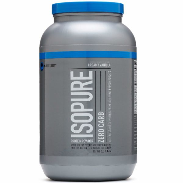 Isopure Zero Carb 3lbs - Nature's Best