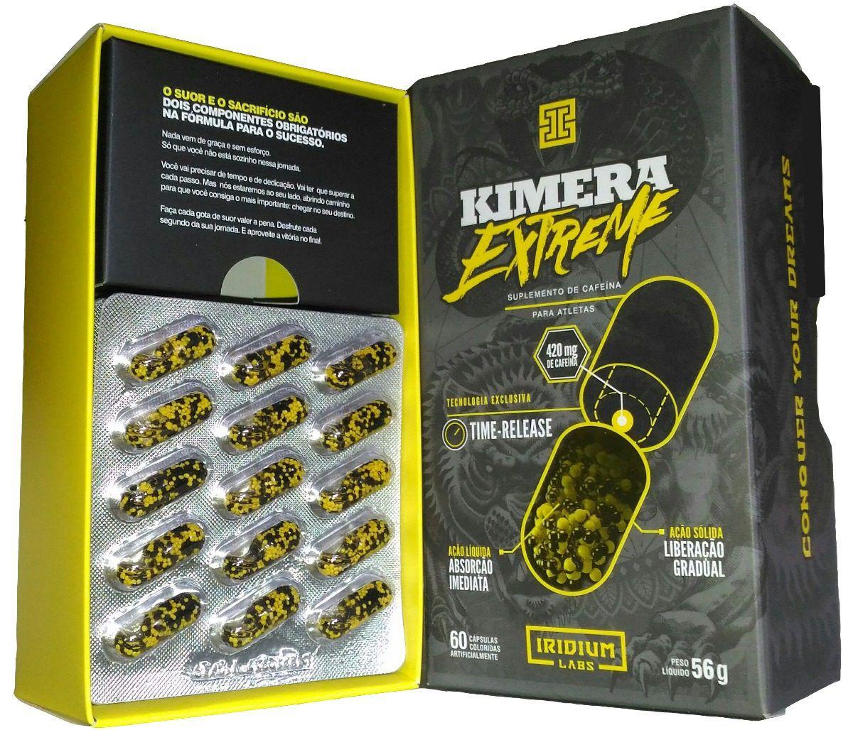 Kimera extreme 60 Caps - Iridium Labs