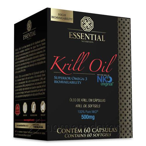 Krill oil 60 Caps - Essential Nutrition