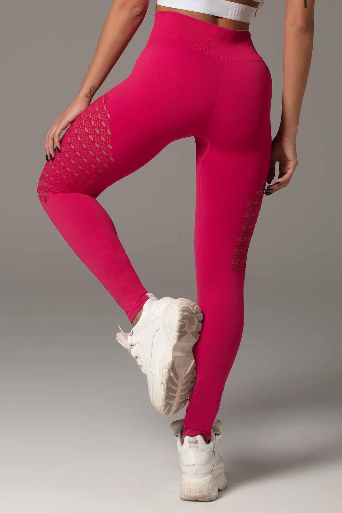 Legging Attitude Fitness Seamless Rosa