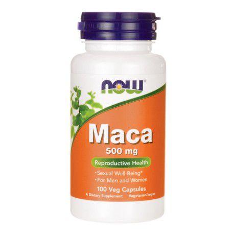Maca 500 mg 100 Caps Now Foods