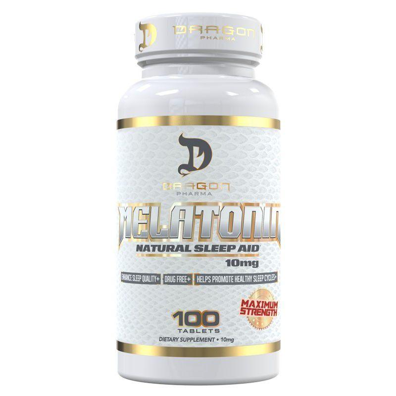 Melatonina 10mg - Dragon Pharma (100 cápsulas)