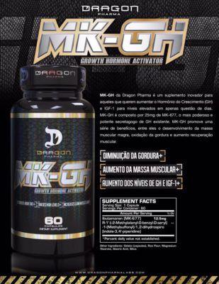 MK GH 60 CAPS - DRAGON PHARMA