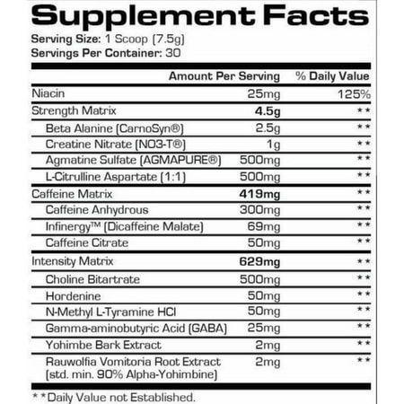 MR. HYDE (30 doses)Pro Suppz - Pré Treino
