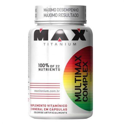 multimax multivitamínico complex 90 caps max titanium