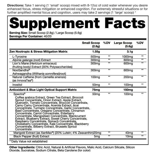 NEUROMORPH - NOOTRÓPICOS 40 Doses Dragon pharma