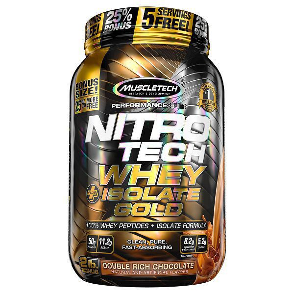 Nitro Tech Whey Plus Isolate Gold 2lbs - Muscletech