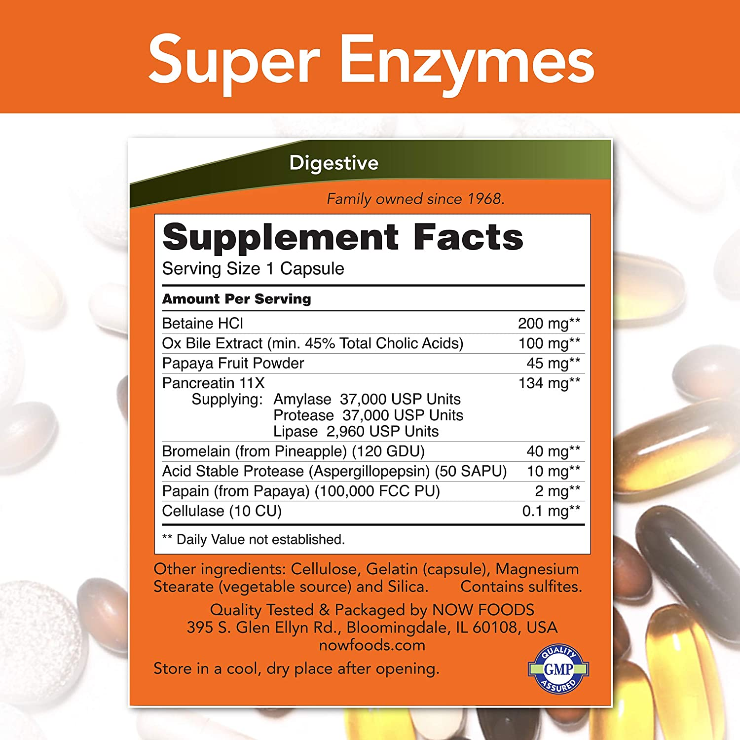 NOW Foods Now Super Enzymes 90 capsules