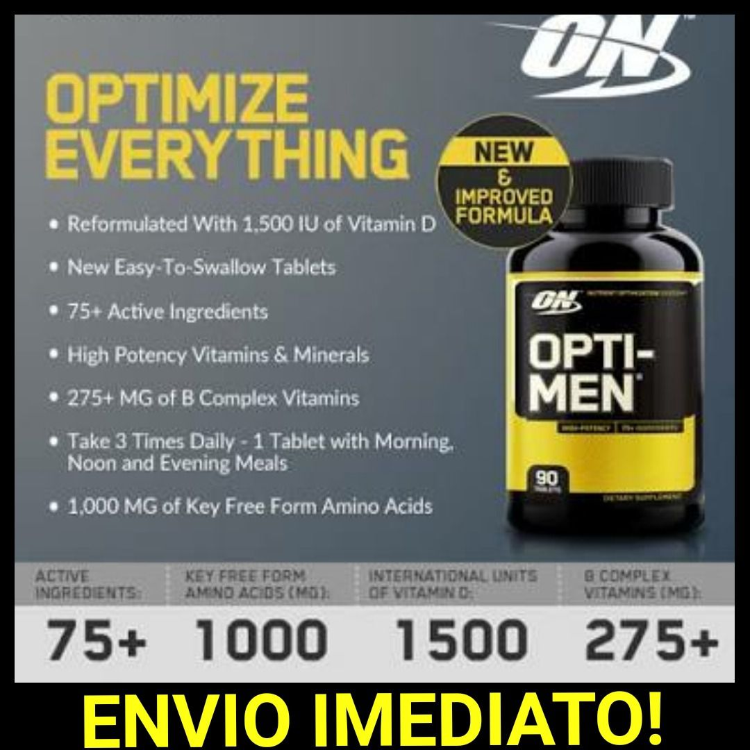 Opti-Men 90 Tabs - Optimum Nutrition