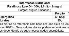 Palatinose Low Gi 300g - Integralmedica