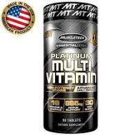 Platinum Multivitamínico - (90 caps) - Muscletech