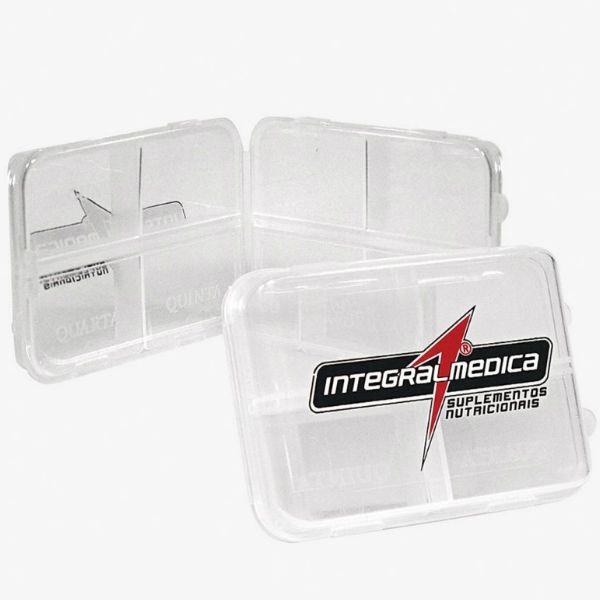 Porta Cápsulas 8 Espaços - Integralmedica