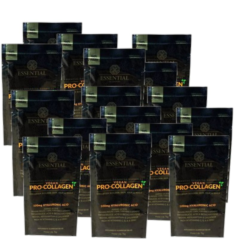 PRO-COLLAGEN VEGAN 40 sachês  de 11g (cada)